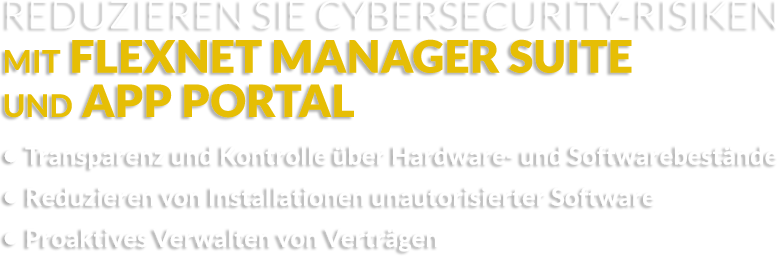 Reduzieren von Cybersecurity-Risiken