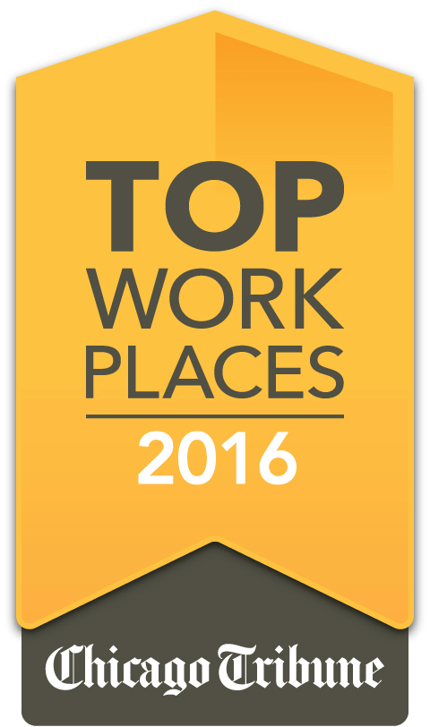 Top Work Places 2016 Chicago Tribune