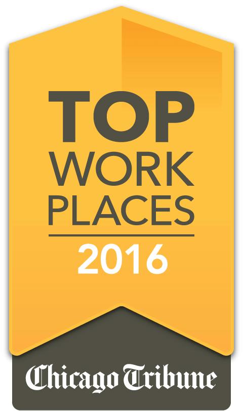 Top Work Places 2016 Chicago Tribune