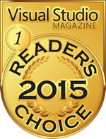 InstallShield remporte la médaille d'or dans la catégorie Outils d'installation, de configuration et de déploiement à l'occasion du Reader's Choice Award 2015 de Visual Studio Magazine