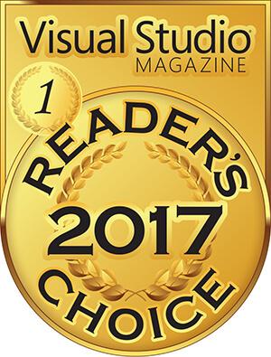 InstallShield Wins Gold for Installation, Setup & Deployment Tools Category in Visual Studio Magazine's 2017 Reader's Choice Award
