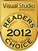 InstallShield Wins Visual Studio Magazine's 2012 Readers Choice Award