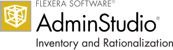 AdminStudio Inventory and Rationalization
