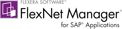 FlexNet Manager for SAP Applications
