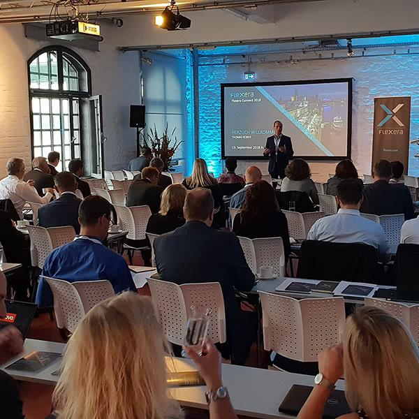 Flexera Connect 2019 in Köln