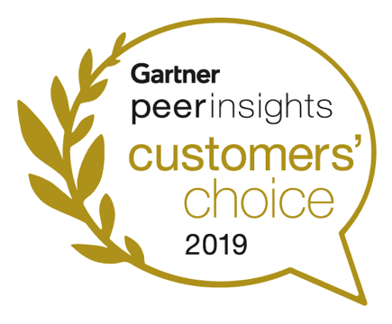 Gartner Peer Insights Customers' Choice 2019