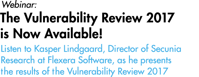The Vulnerability Review 2017 is Now Available!