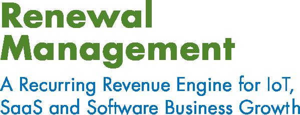 Renewal Management - Recurring Revenue