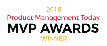 Product Management Today MVP Awards 2018 Winner