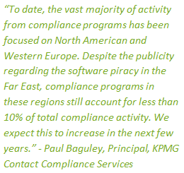 KPMG Compliance quote